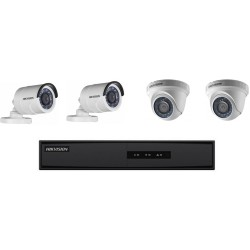 Kit CCTV 4 Camaras HD 1MP