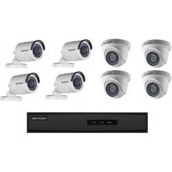 Kit CCTV 8 Camaras HD 1MP