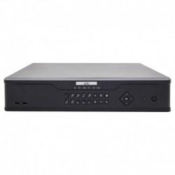 NVR 16CH 16POE 160MBPS 4HHD I/O