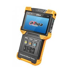 "Tester HDCVI IP ANALOGICO Pantalla 4"" PoE 12Vdc TDR Audio 485, Soporta cámaras IP, Onvif, HDCVI y Analógicas."