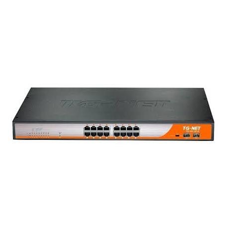 Switch TGNet P2018M-16Poe-300W,