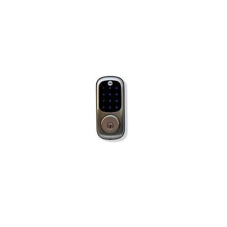 Cerradura Digital Yale YRD221-NR-619 Pantalla Touch Incluye Dispotivo Zwabe